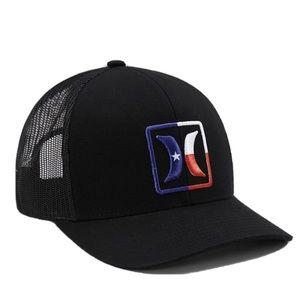 NWT Hurley Texas Trucker Hat USA Snapback Hat